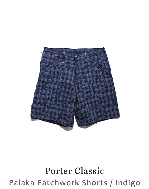 Palaka Patchwork Shorts