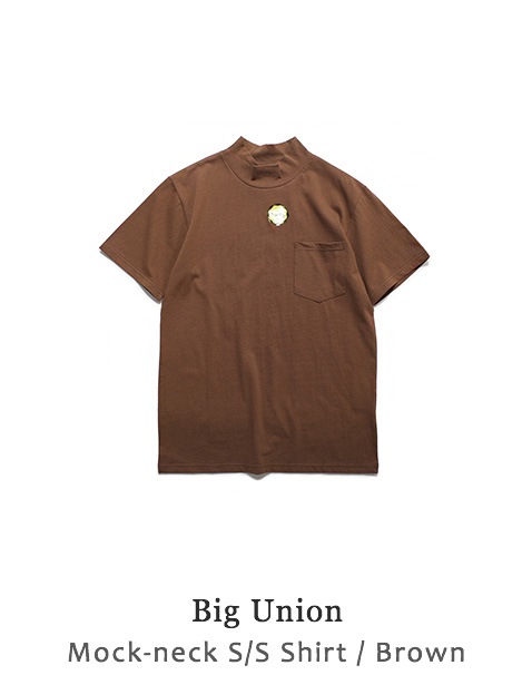 Mock-neck S/S Shirt