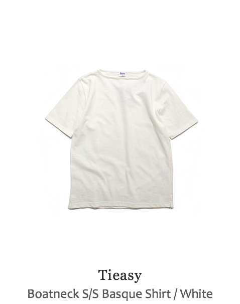 Boatneck S/S Basque Shirt