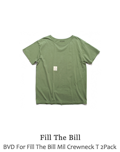 BVD For Fill The Bill Mil Crewneck T 2Pack