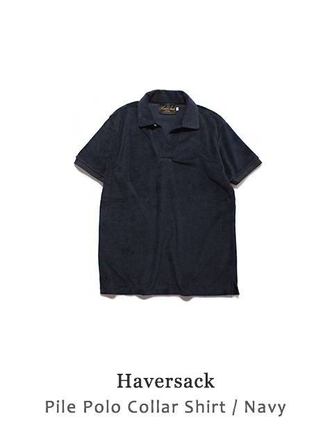 Pile Polo Collar Shirt