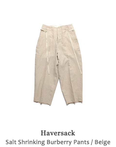 Salt Shrinking Burberry Pants