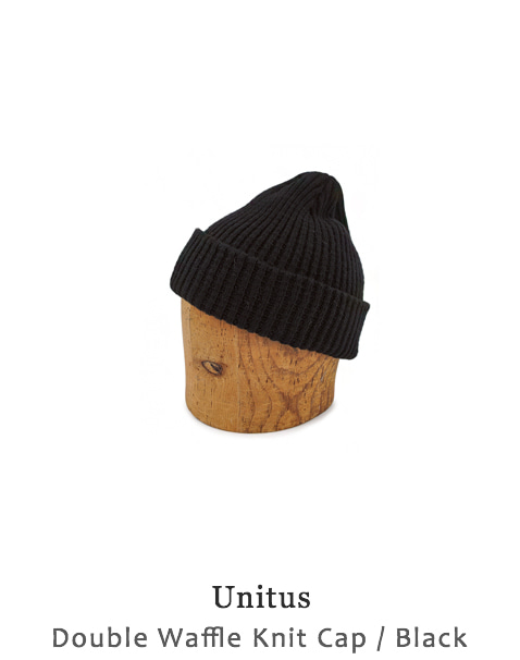 Double Waffle Knit Cap