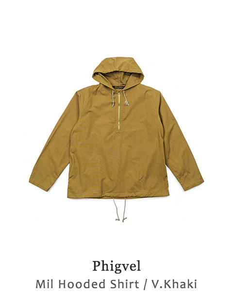Mil Hooded Shirt