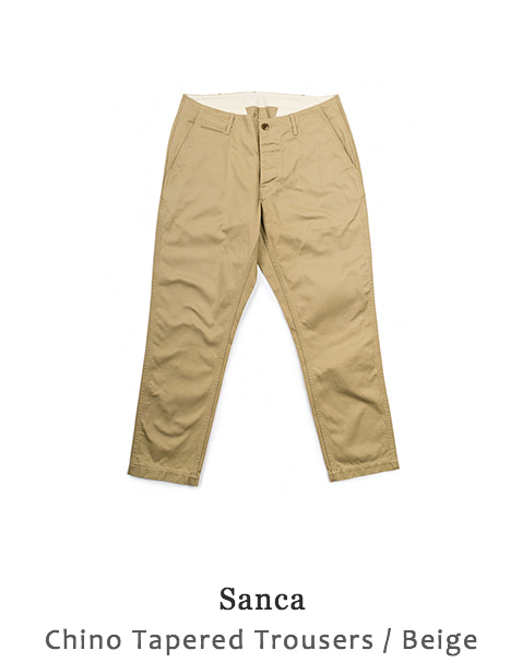Chino Tapered Trousers
