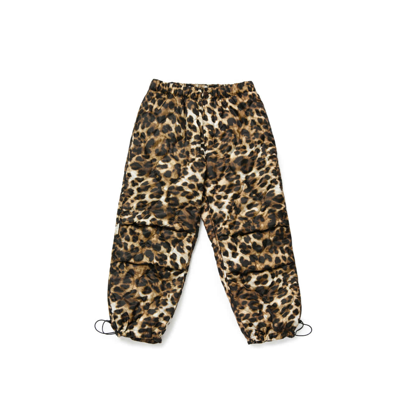 BU M Quilted Leopard Pants